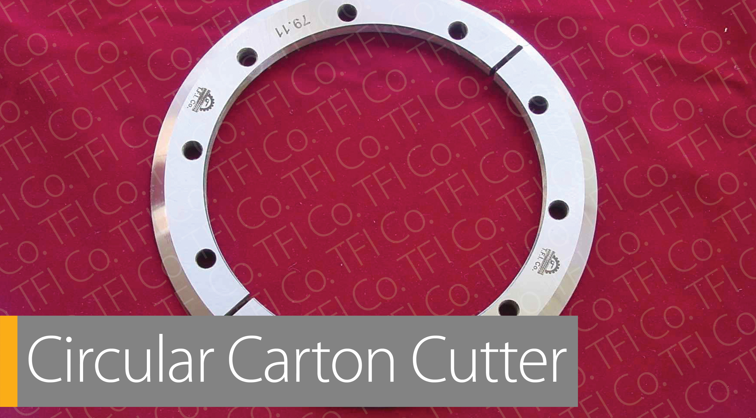 Circular Carton Cutter