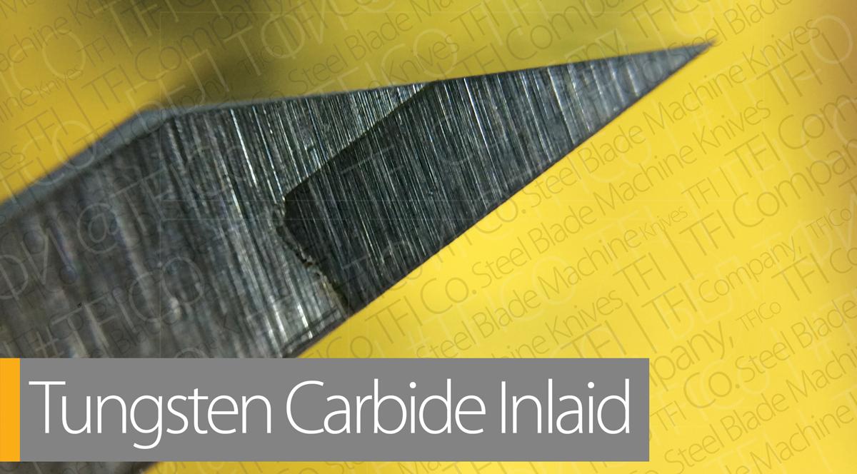 Tungsten Carbide Steel Blades Inlaid Tungsten